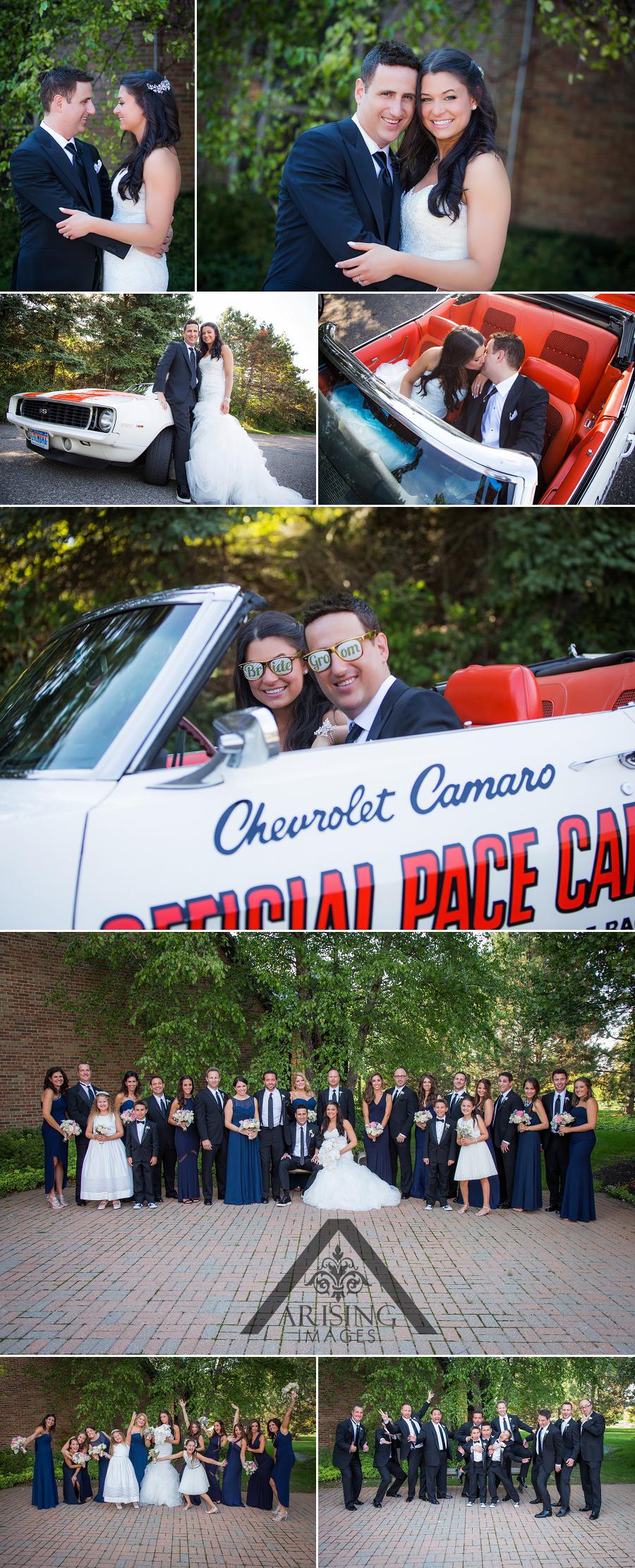 Fun Wedding photographers in Michigan