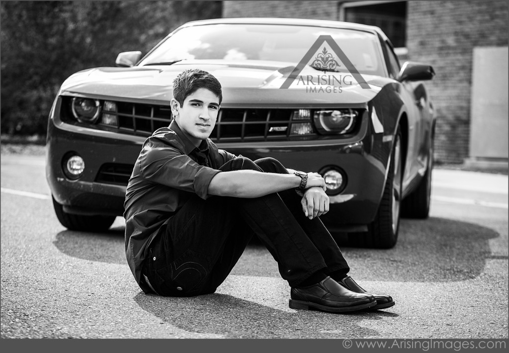 Awesome Senior Pics with cars