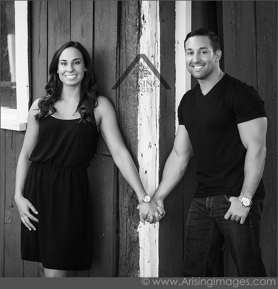 Barn engagement pics