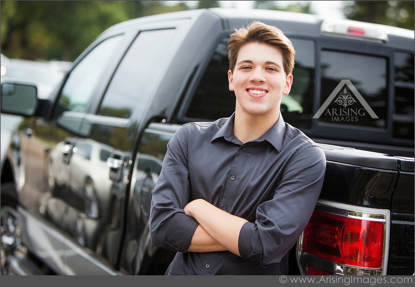 Cool truck senior photos