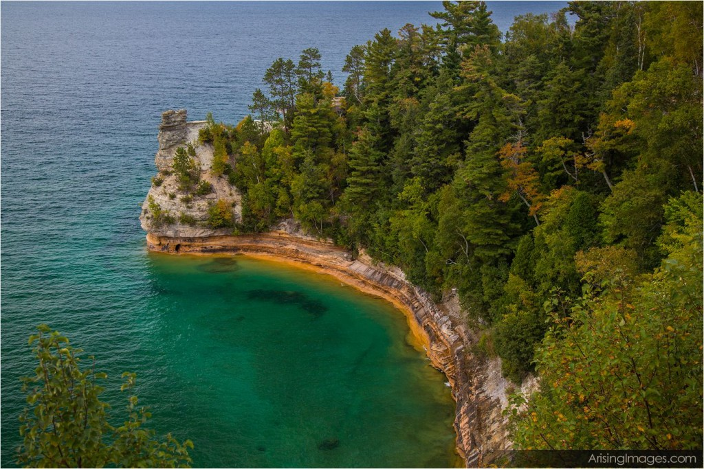 Miners Castle.  Pictured Rocks National Lakeshore