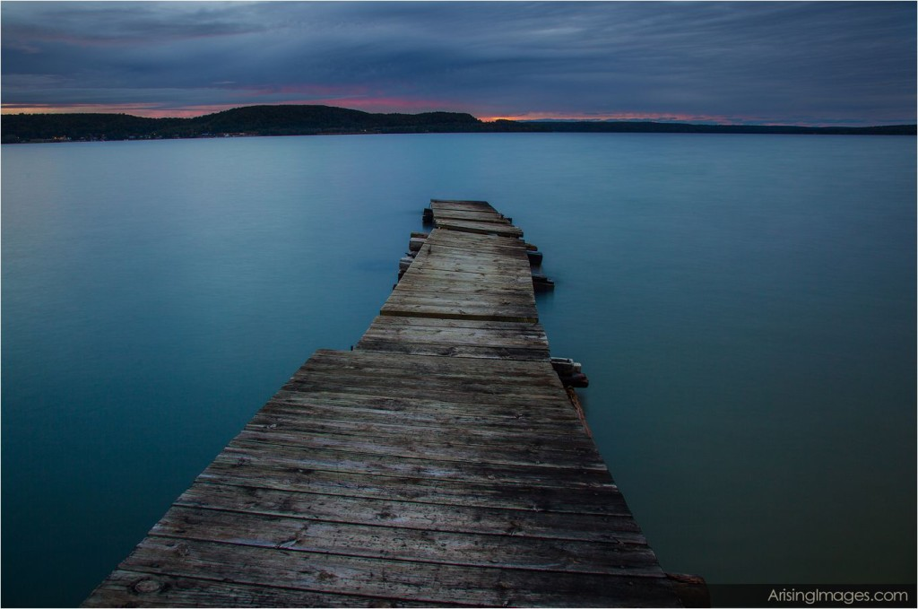 Munising, MI sunset