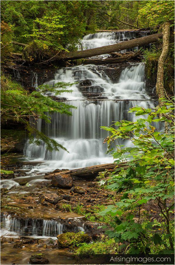 Wagner Falls, Munising, MI