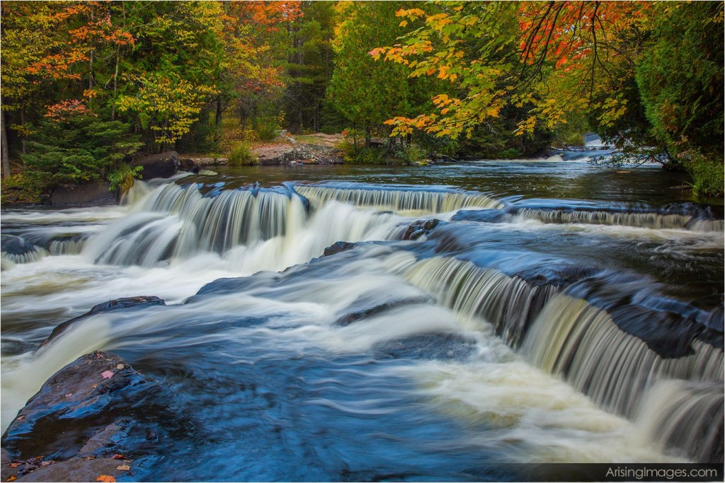 Bond Falls in northern, MI