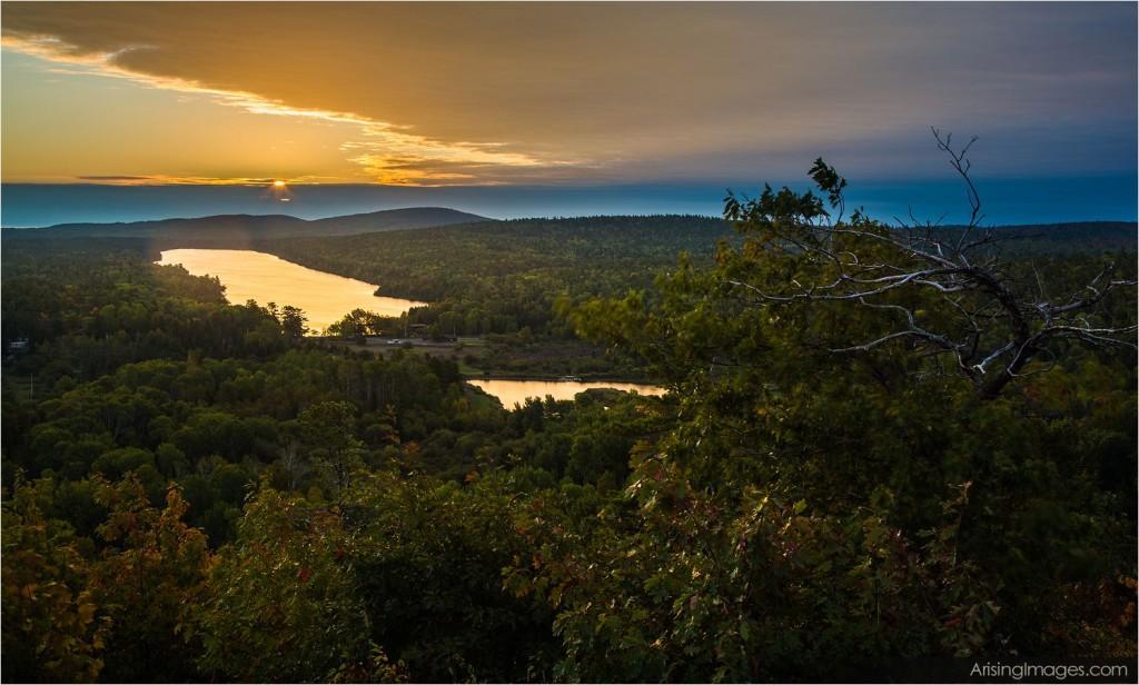 Brockway Mountain sunrise