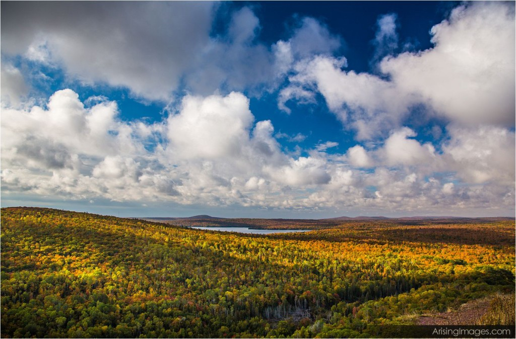 Brockway Mountain, northern michigan fall color