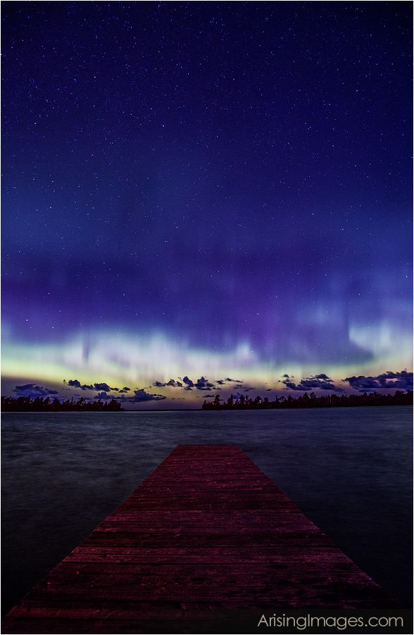 Aurora Borealis, northern lights in michigan