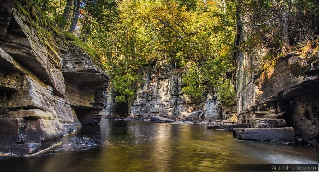 Canyon Falls, northern michigan