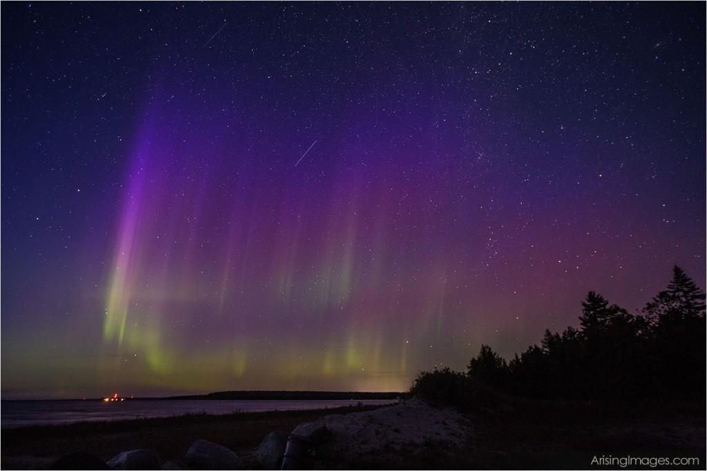 Northern Lights Mackinaw City, MI
