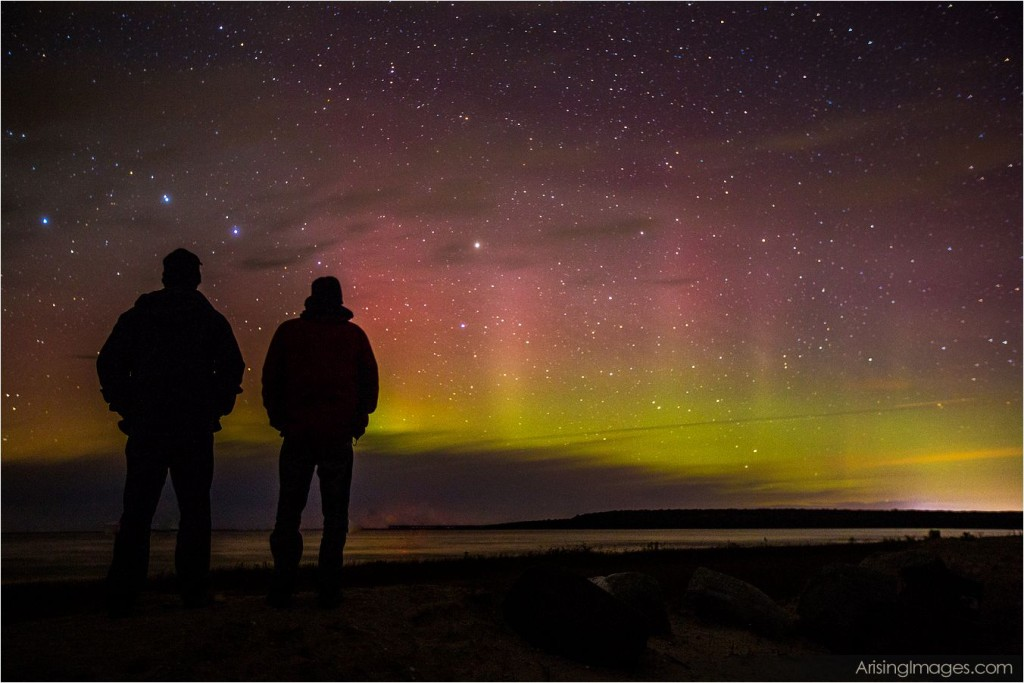 Northern lights, MI
