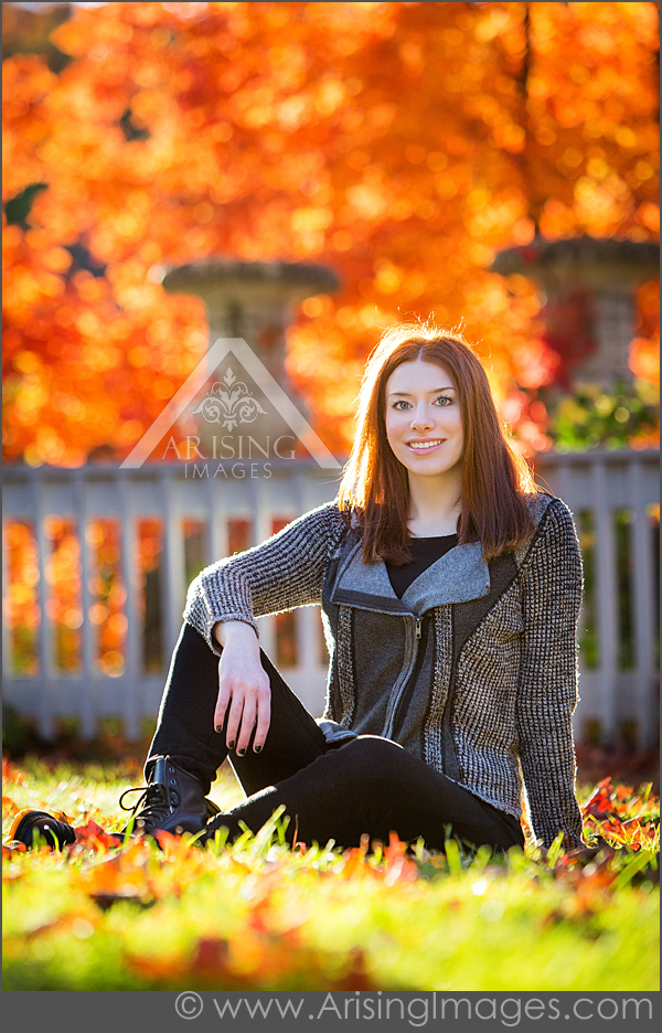Amazing Fall Senior Portraits
