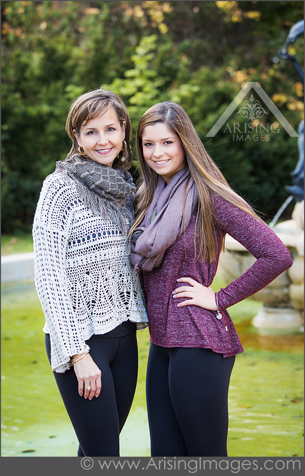Beautiful mother and daughter pictures