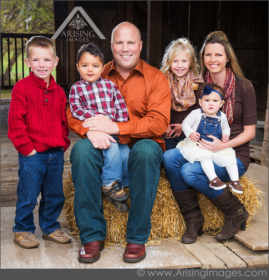 Cute Michigan family photos