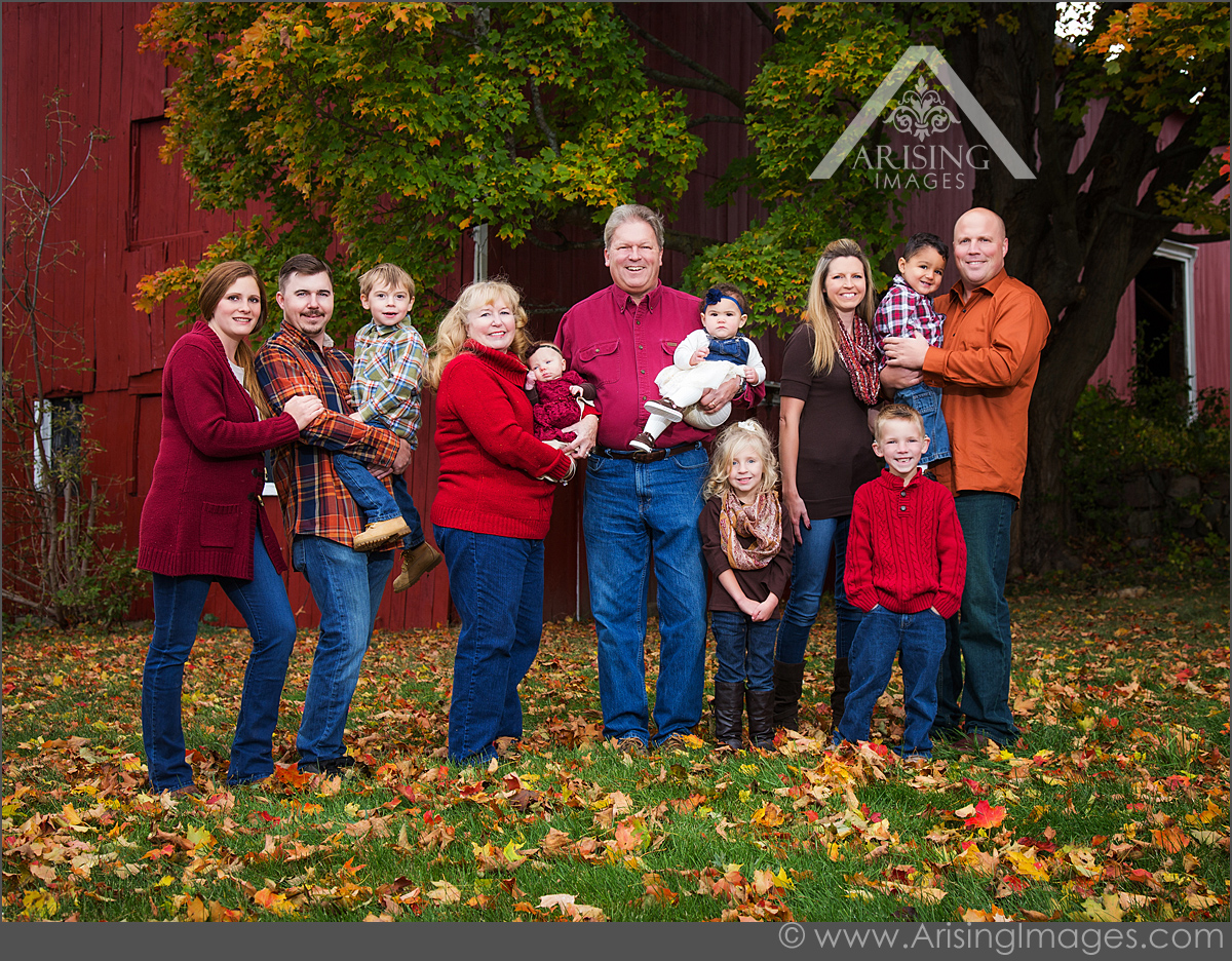 Great Michigan Family Portrait Photography