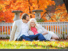 Stunning Autumn Engagement Photography