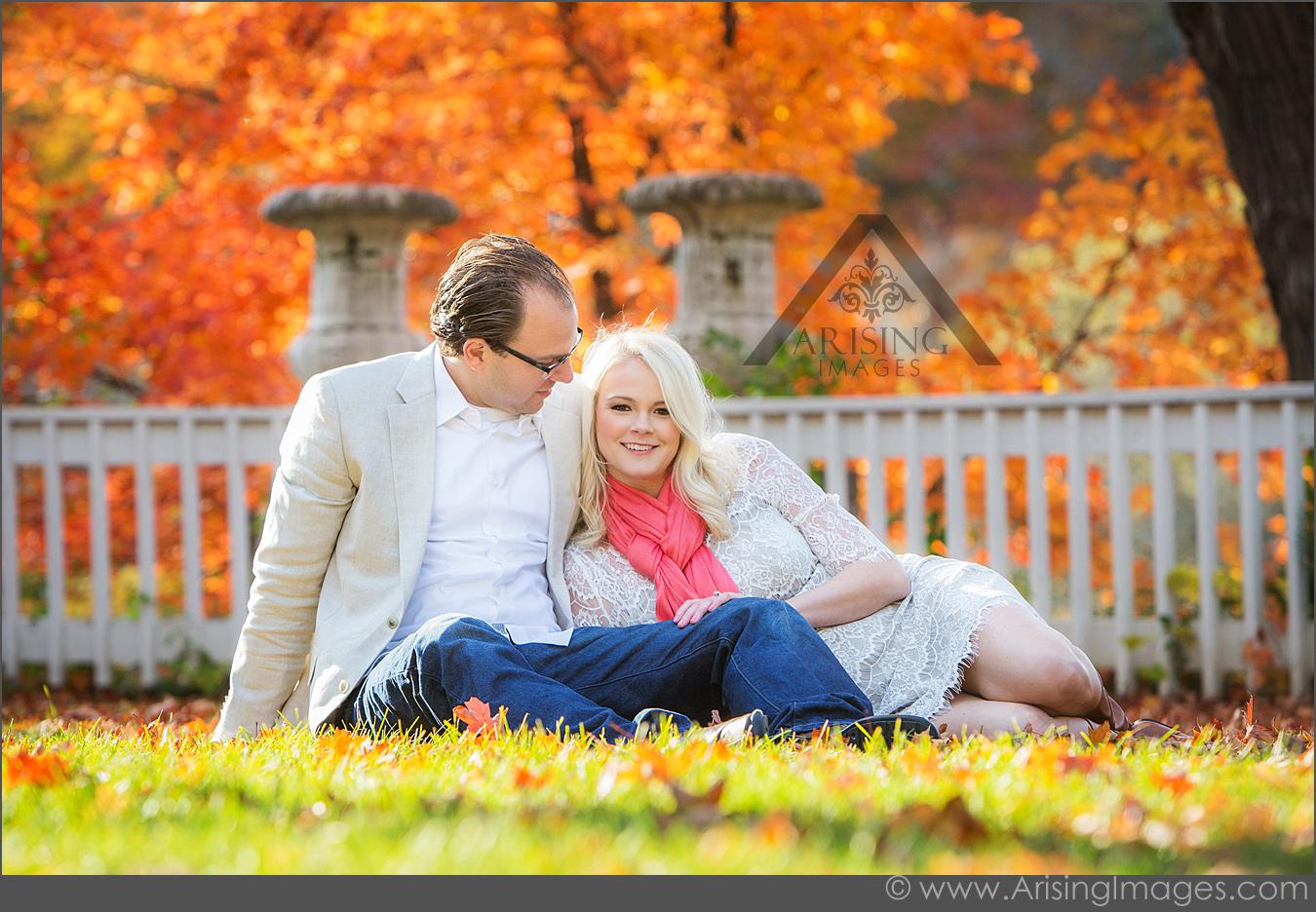 Stunning Autumn Engagement Photography