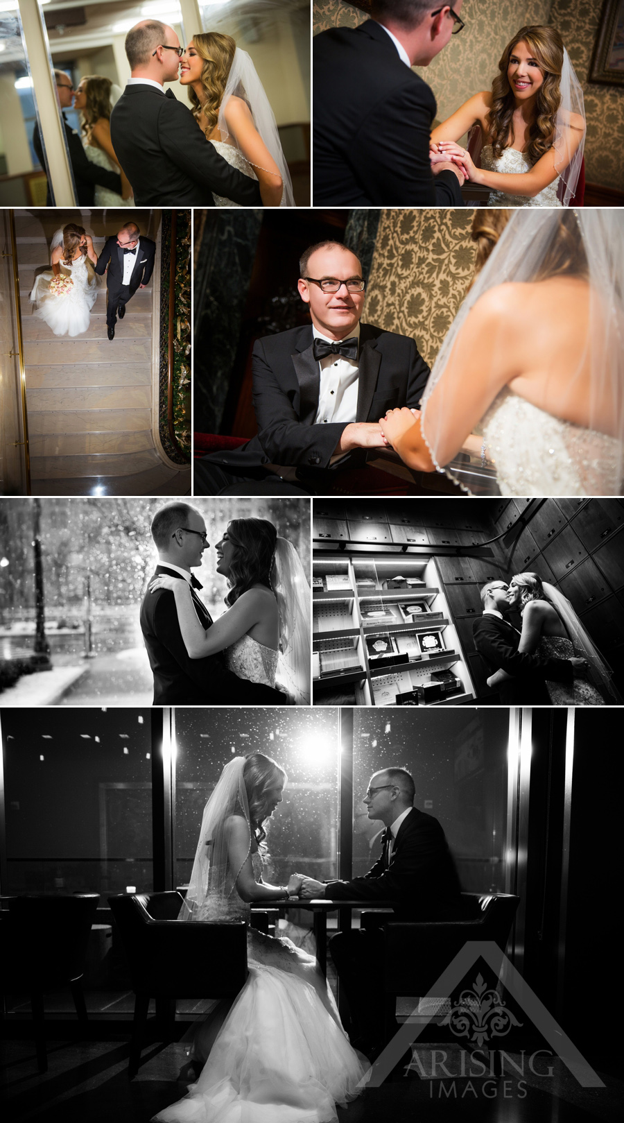 Gorgeous Michigan bride and groom photos
