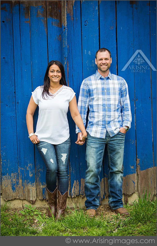 cute michigan engagement pictures