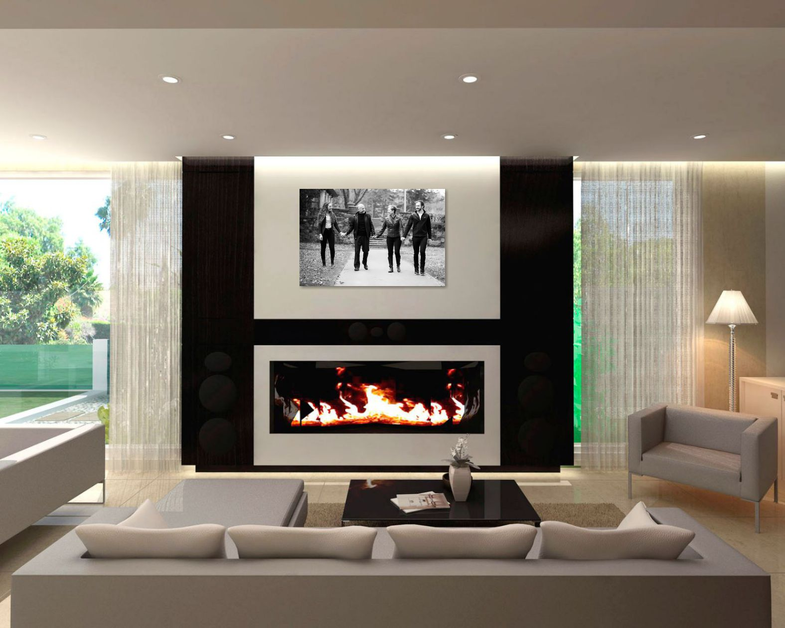 The importance of family photos arising images for Importance of living room