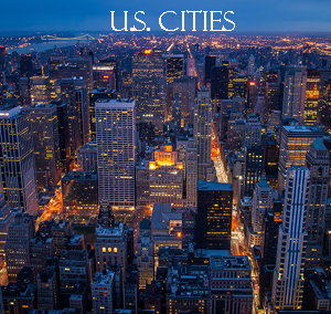 Photography of Cities in the United States