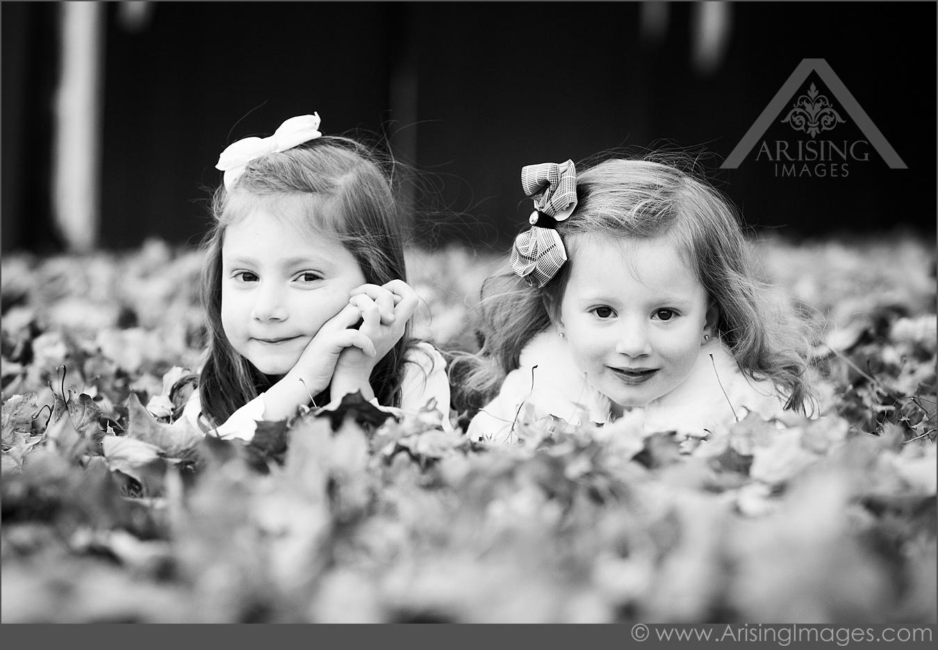 children photography in autumn