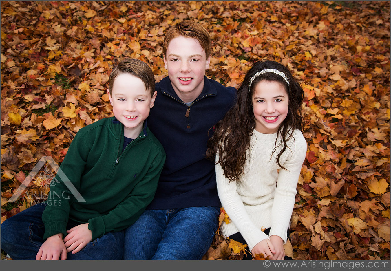 Great fall family photography