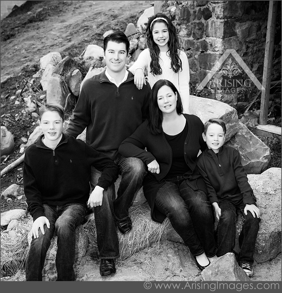 Great family portrait photographers in Michigan