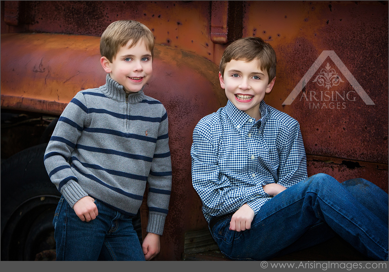 adorable brother photo session
