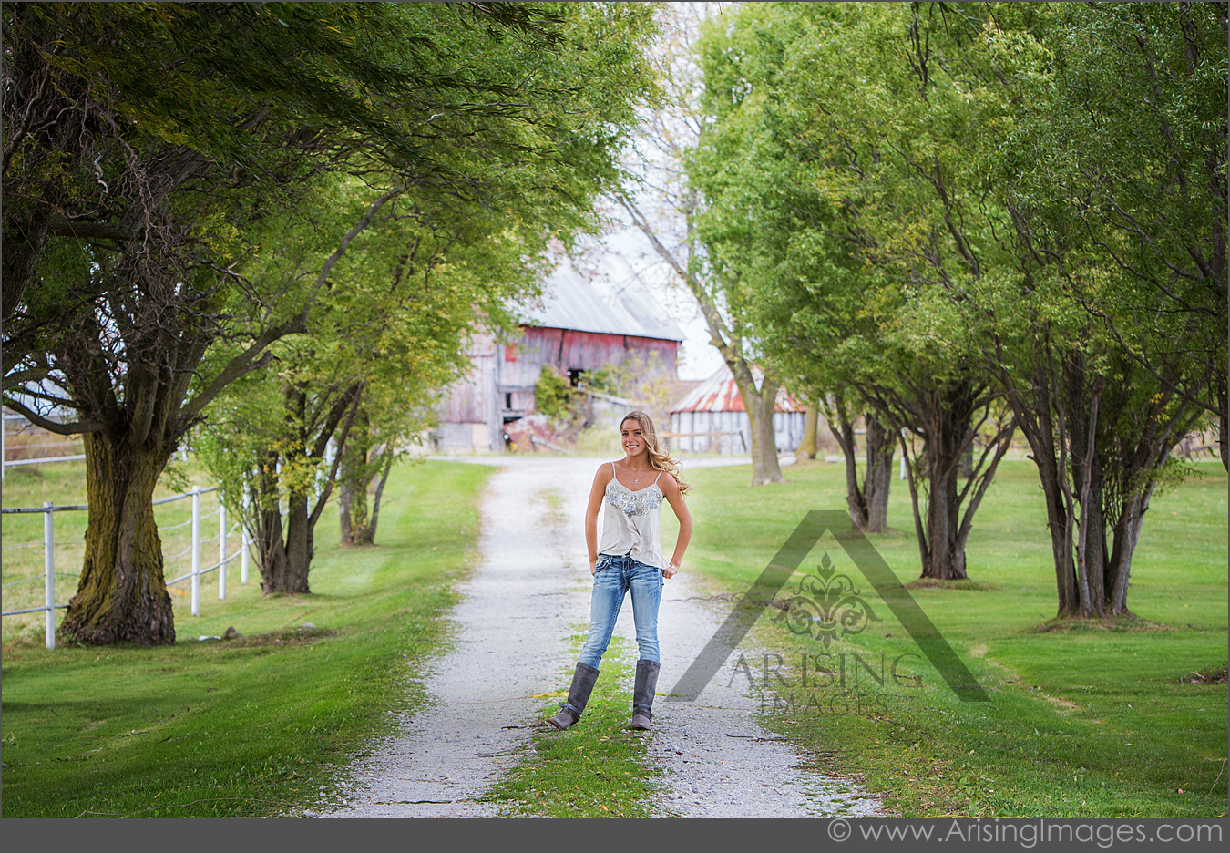 rural senior pictures in croswell michigan