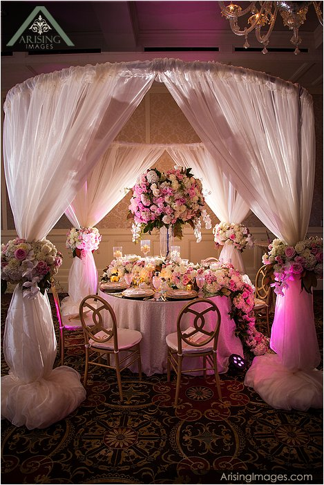 High End Wedding Decor At The Royal Park Hotel Arising Images