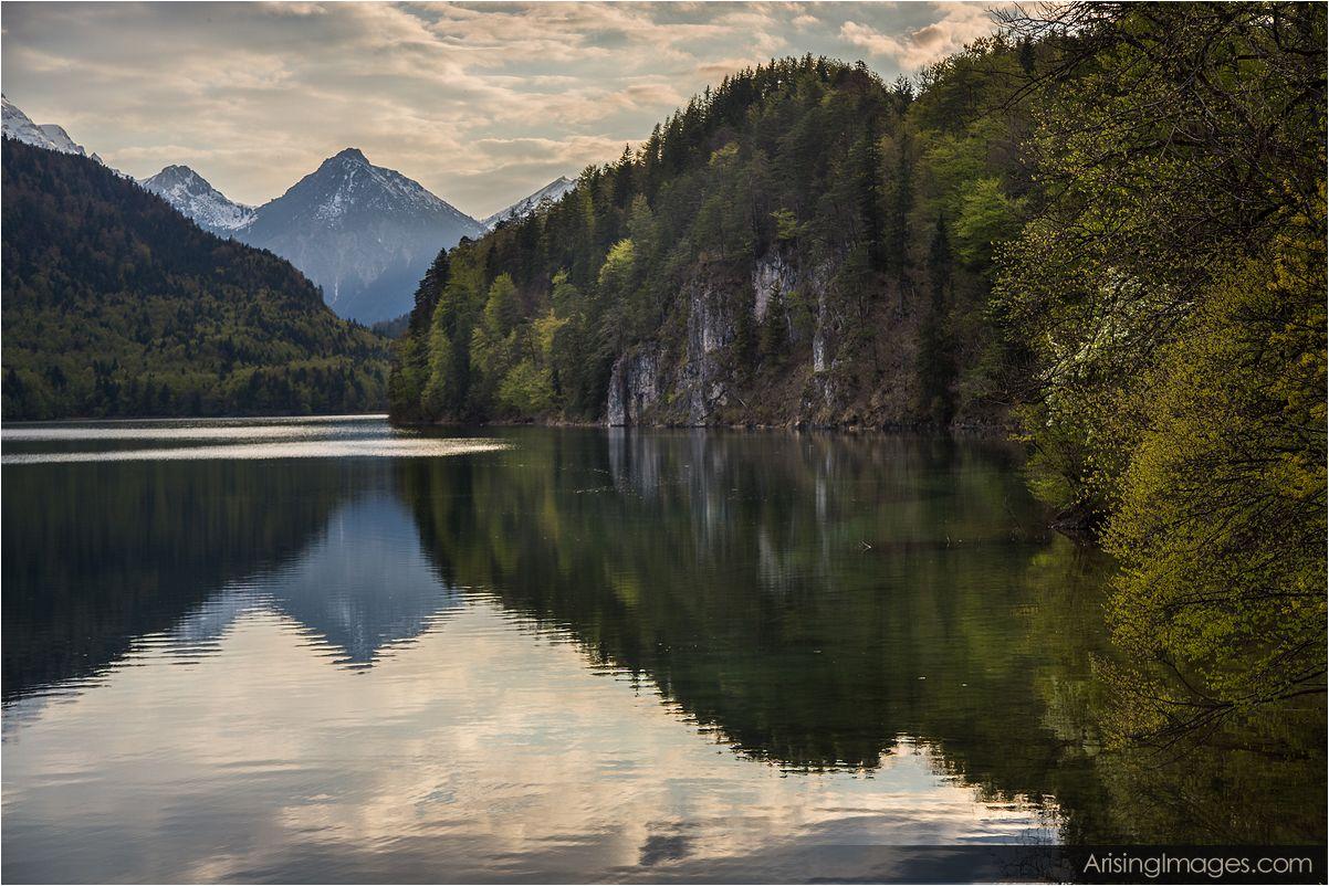 Lake near Schloss Hohenschwangau