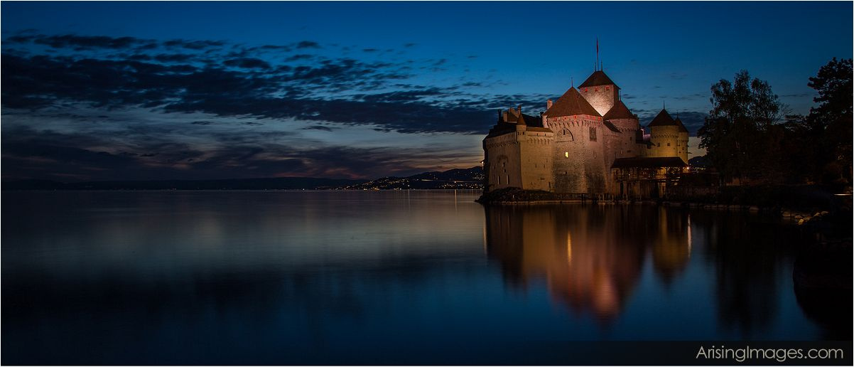 Chateau De Chillon, Montreux Switzerland