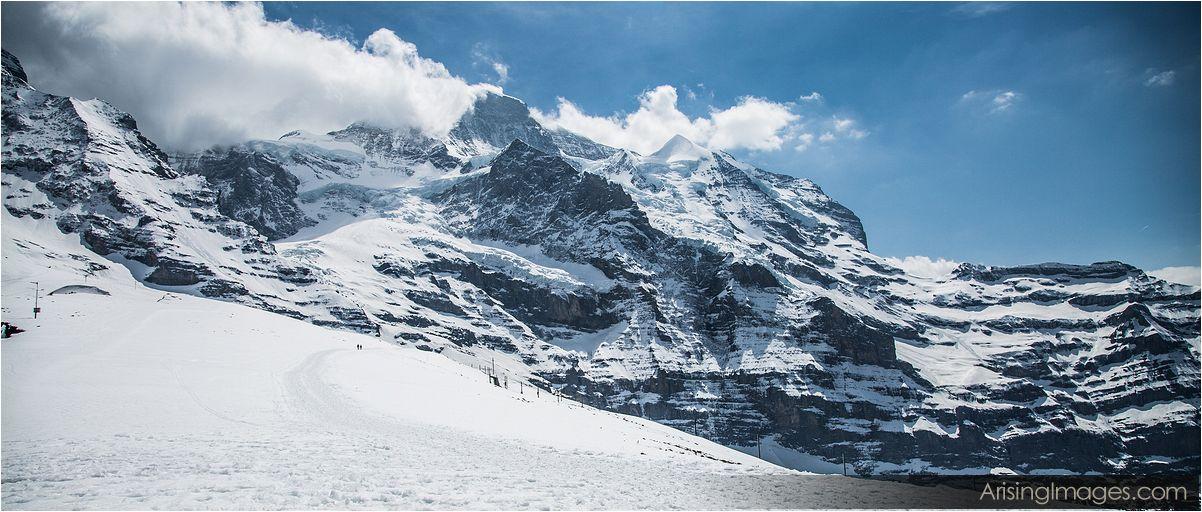 Kleine Schiedeg view of Junfraujoch