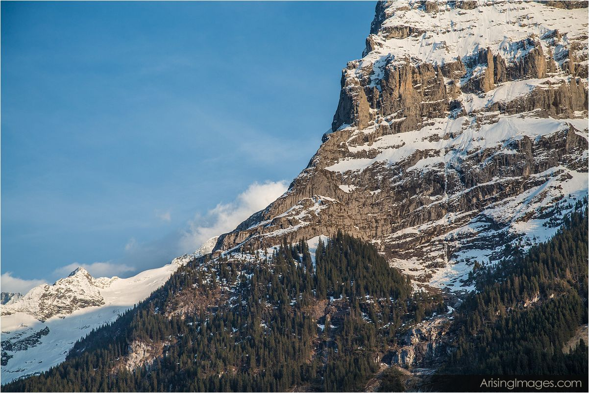 Mountains near Grindelwald