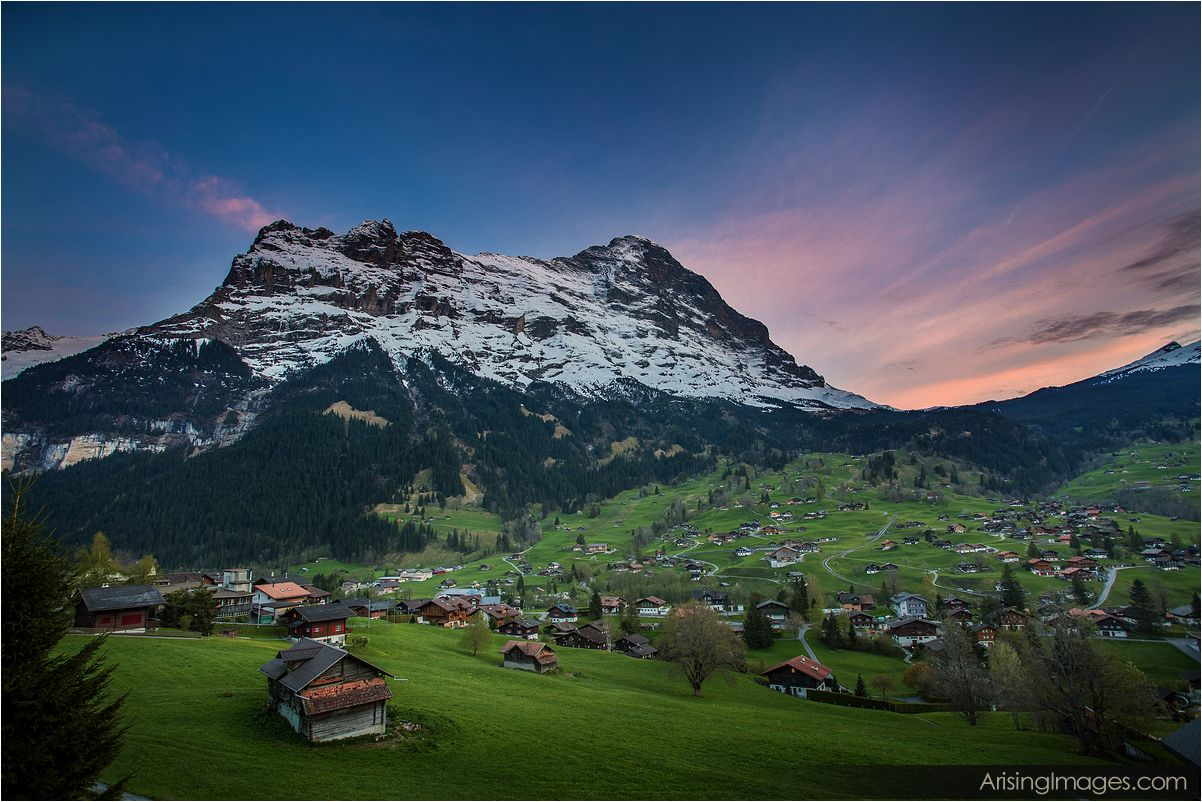 Grindelwald Sunset