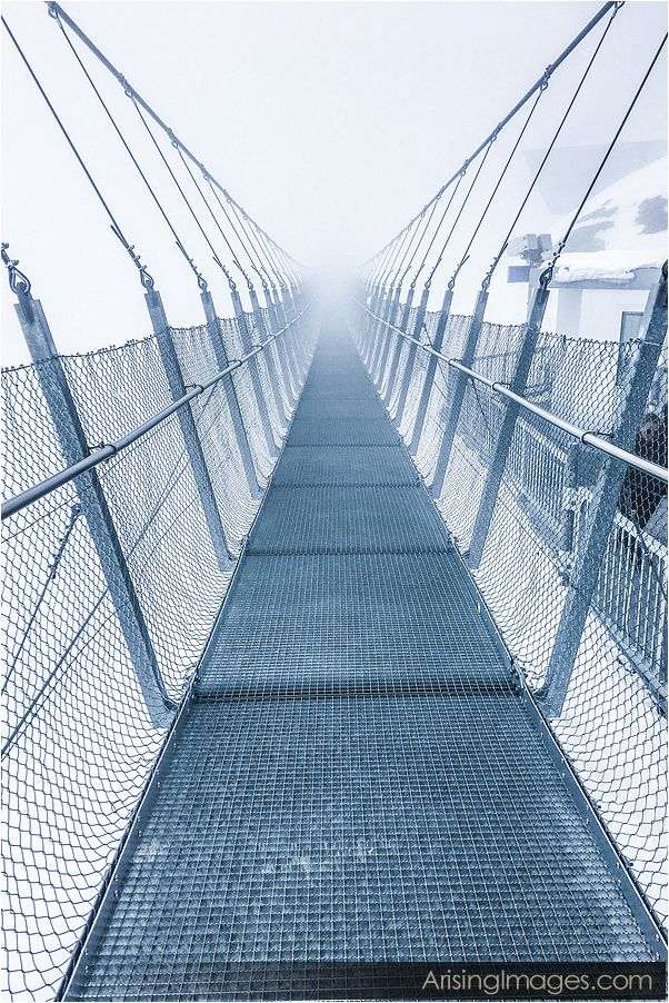 Mt. Titlus suspension bridge