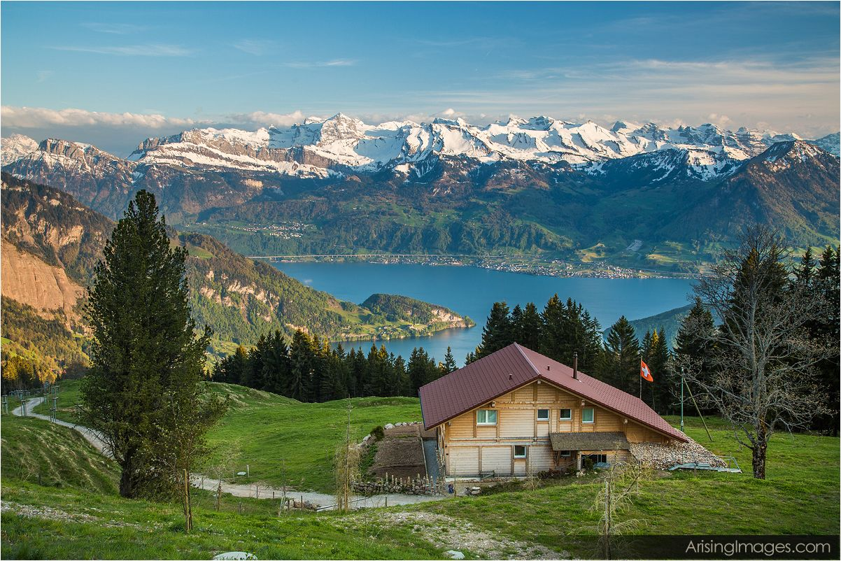 view from Rigi Kaltbad-First
