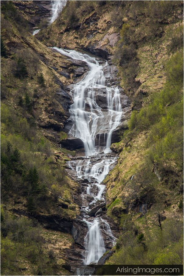 Waterfall on Grossglockner highway