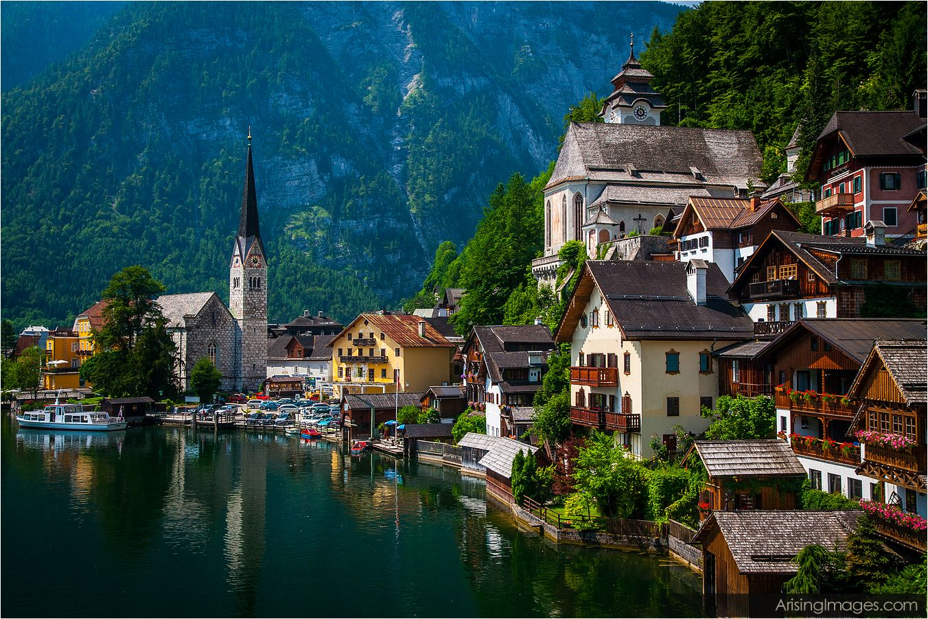 Hallstatt on the Hallstatter See