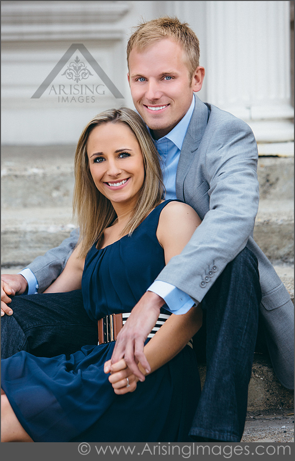Beautiful Michigan Engagement Portraits