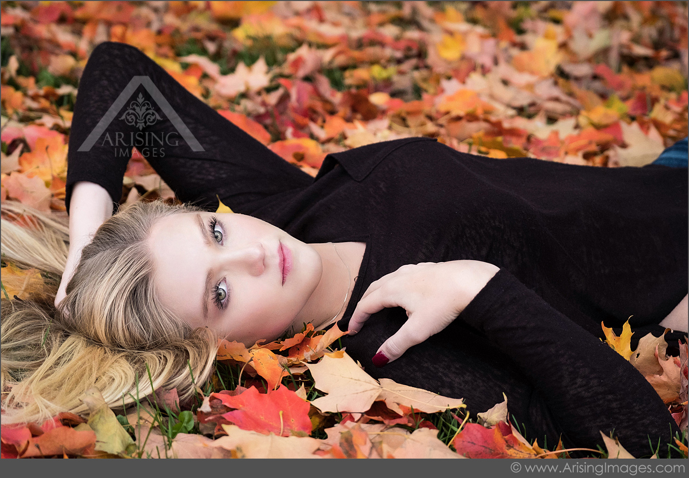gorgeous fall senior pictures