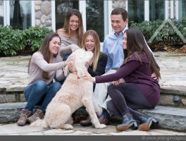 Family Portraits at Home with the Pethick Family