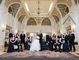 Westin Book Cadillac Wedding with Corey and Lauren
