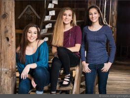 Sister Photo Shoot with Cassandra, Vanessa, and Olivia