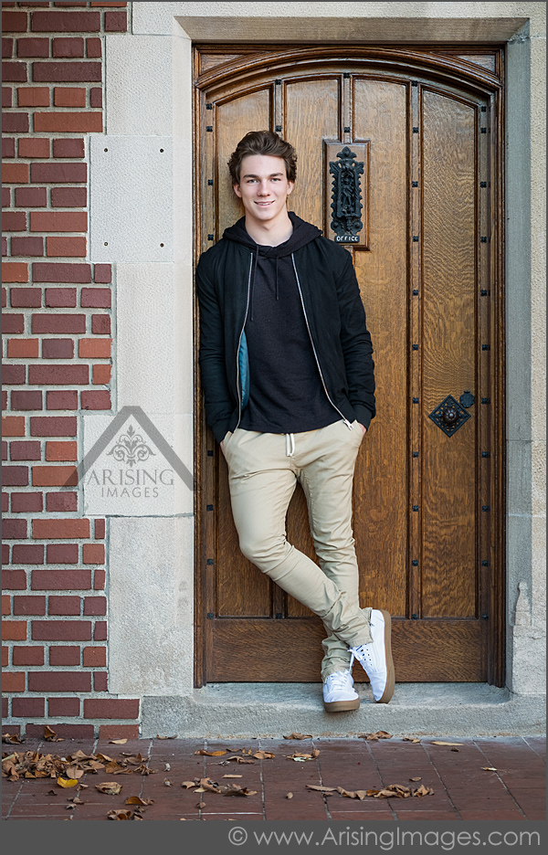 Fall Senior Pictures at Cranbrook