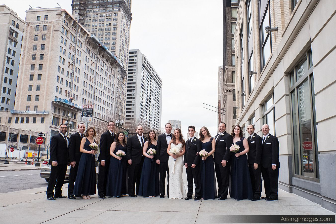 Westin Book Cadillac wedding photography