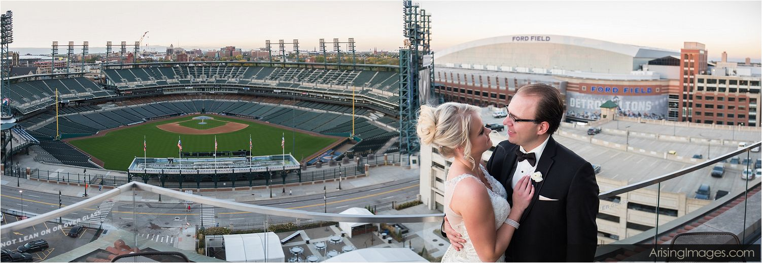 Detroit Athletic Club wedding photography