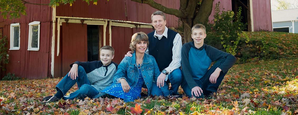 Rochester Michigan Family Portraits