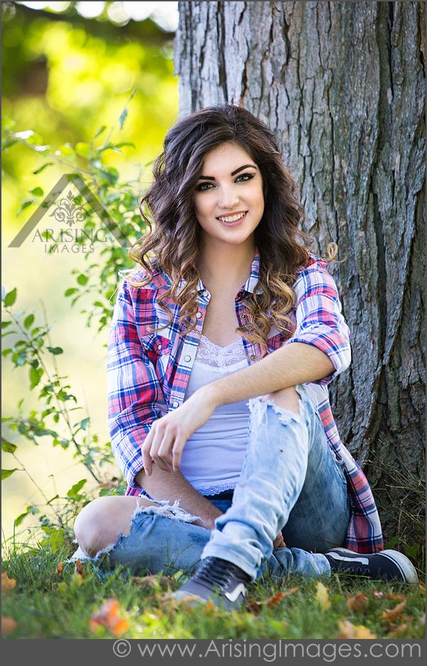 best michigan senior picture photographer