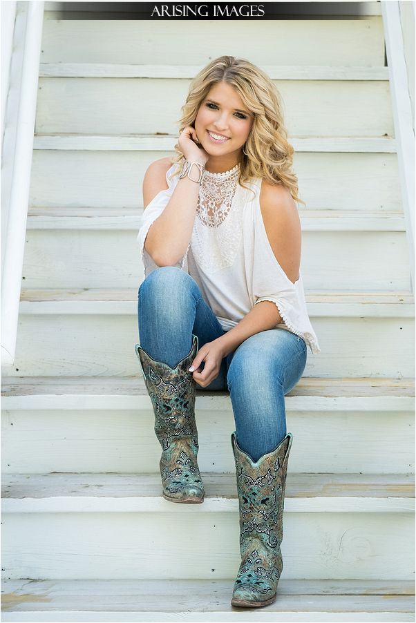 country senior pictures